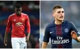 Manchester United tính đổi Paul Pogba lấy Marco Verratti?