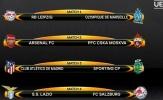 Bốc thăm tứ kết Europa League: Arsenal tránh được Atletico