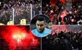 CĐV gây loạn, trận Athletic - Marseille ngập trong biển lửa