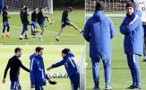 Gạt nỗi buồn Barca, Chelsea lao vào tập luyện vì danh hiệu FA Cup