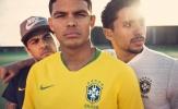 Brazil tung áo đấu đẹp như mơ cho World Cup 2018