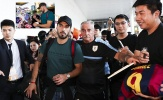 Luis Suarez được fan săn đón ở Trung Quốc