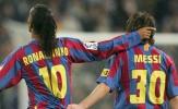 Đội hình đồng đội xuất sắc nhất của Ronaldinho