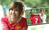 Nattasha Nauljam - nữ diễn viên Thái Lan cuồng Man Utd