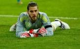 De Gea nằm thở dốc sau những pha cứu thua liên tục trước tuyển Đức