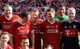 Carragher tái xuất, huyền thoại Liverpool hòa Bayern 5-5