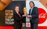Chiếc cúp vàng danh giá trở lại nước Đức