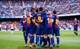 Đánh bại Valencia, Barca cán cột mốc lịch sử