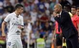 """James Rodriguez trước cơ hội """"phục thù"""" Zidane"""
