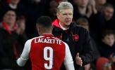 Wenger mát lòng vì Lacazette