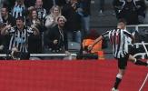 Hạ Arsenal, sao Newcastle hăng máu đá văng cột cờ