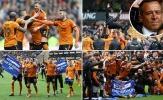 Trở lại Premier League sau 6 năm, Wolves mở hội ăn mừng