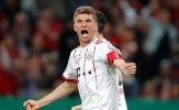 Thomas Muller lập hattrick, sẵn sàng sút tung lưới Real Madrid