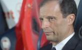 Allegri chết lặng trên ghế huấn luyện vì sự chủ quan của Juventus