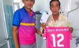 Sài Gòn FC thực hiện nghĩa cử đẹp với những mảnh đời khó khăn