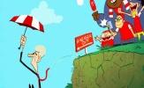 Hí họa Wenger bị đánh tơi tả trước khi rời xa Arsenal