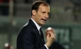 Juventus không 1 lần sút trúng mục tiêu, Allegri nói gì?
