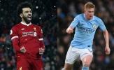 3 lý do khiến De Bruyne thất bại trước Salah