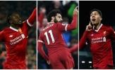 'Tam sát' của Liverpool 'vô đối' ở Champions League