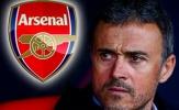 Thương thảo thuận lợi, Luis Enrique sắp về Arsenal?