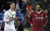 10 cầu thủ hay nhất châu Âu: Salah Top 6, CR7 mất dạng