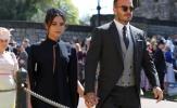 Vợ chồng Beckham nổi bật tại lễ cưới Hoàng gia