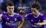 Modric-Kroos, chìa khóa vạn năng trong tay Zidane