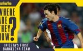 Đội hình Barcelona khi Andres Iniesta ra mắt năm 2002 giờ nơi đâu?