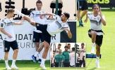 Đồng đội 'choảng' nhau trên sân tập tuyển Đức, Muller cười khoái trá