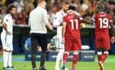 Ramos bất ngờ gửi thông điệp đến Salah