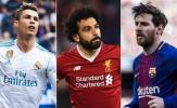 Đội hình xuất sắc nhất Champions League mùa giải 2017/2018