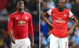 Pogba thừa nhận bệnh binh của Arsenal còn xuất sắc hơn mình