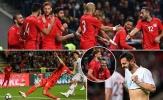 Không Ronaldo, Bồ Đào Nha sẩy chân dù dẫn trước 2 bàn