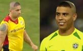 'Ronaldo béo' tái xuất trên sân cỏ với kiểu tóc huyền thoại?