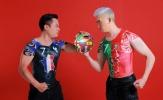 Bộ ảnh body painting ấn tượng đón đầu tứ kết trong mơ giữa Pháp - Bồ Đào Nha