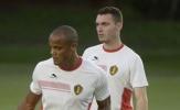 Tuyển BỈ vắng 2 siêu sao trước trận ra quân World Cup 2018