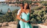 Mặc kệ Tây Ban Nha thi đấu, Morata lại chăm chăm khoe vợ