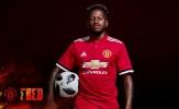 CHÍNH THỨC: Man United công bố thương vụ Fred