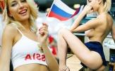 Nữ CĐV Nga bốc lửa hóa ra là... sao phim khiêu dâm