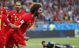 CĐV phát cuồng với Fellaini sau màn ngược dòng của tuyển Bỉ