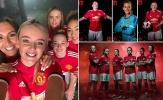 Thâu nạp hàng từ Liverpool & Man City, Man Utd trình làng đội nữ xinh đẹp