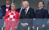 Tổng thống của Pháp và Croatia phấn khích tột độ trước thềm chung kết