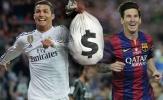 Ronaldo 'đào thoát' khỏi La Liga vì thua Messi ở khoản này?