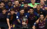 Messi lập kỷ lục trong lần đầu đeo băng đội trưởng Barcelona