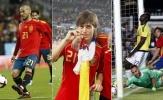 Những khoảnh khắc ấn tượng nhất của David Silva trong màu áo Tây Ban Nha