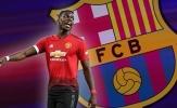 Trái tim của Paul Pogba đã hướng tới Barca