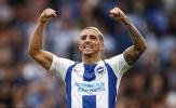 Đánh bại M.U, sao Brighton gửi cảnh báo đến Liverpool