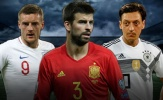 Đội hình ngôi sao giã từ sự nghiệp quốc tế sau World Cup 2018