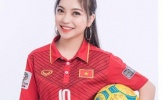 Nhan sắc xinh đẹp của bạn gái tiền vệ Quang Hải