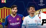 Khai màn Champions League: Hai đại chiến ở bảng tử thần